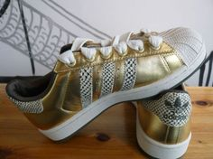 Gold Adidas? Sweet!