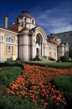 Sofia Public Mineral Baths - rayon Oborishte, Bulgaria