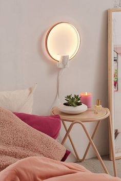 Mitte LED Wall Sconce | Urban Outfitters