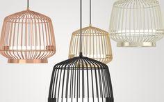 Die Lampe Canary bringt tolles Licht von der Decke