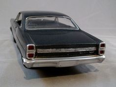 1967 Ford Fairlane 500 GT 1/25 scale model car purchased in 1967.