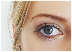 Nossas maquiagens serão douradas e cheias de glamour para receber 2015