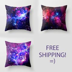 Galaxy Pillows - FREE SHIPPING! by Matt Borchert | Society6