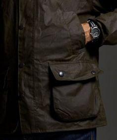 Barbour for J.Crew: The Waxed Cotton Bedale Jacket   Por Homme - Men's Lifestyle, Fashion, Footwear and Culture Magazine