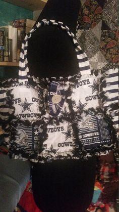 Affordable dallas cowboys rag purse!