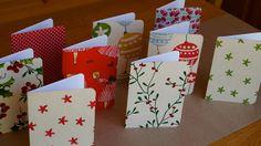 Frog, Goose and Bear: DIY FABRIC CHRISTMAS CARDS
