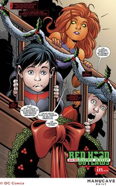 Its Ho Ho Homicide in Red Hood and the Outlaws Annual #2
