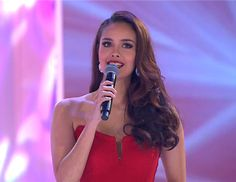 Megan Young returns to host Miss World 2015 with Tim Vincent and Angela Chow #missworld #missworld2015