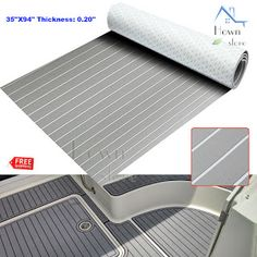 EVA Foam Decking Sheet Marine Floor Mat Yacht Car Elastic, not easy deformation, with high tensile elongation, not easy to tear. Non Slip Flooring, Foam Flooring, Boat Carpet, Decking Material, Boat Interior, Tools Hardware, Commercial Flooring, Carving Tools, Wood Carving