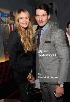 Twitter / anne_DK87: David Gandy with Elle Macpherson ...