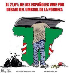 España es pobreza