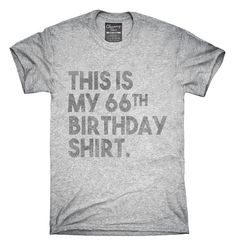 Funny 66th Birthday Gifts