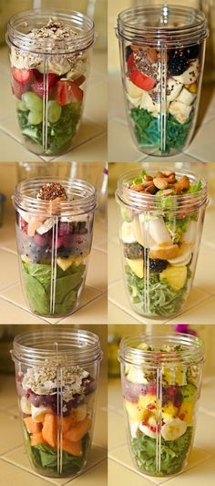 DIY Smoothie Recipes, these look good! #healthy