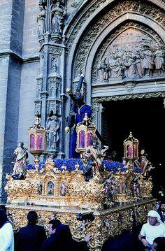 El Cristo de los gitanos. Sevilla, España.