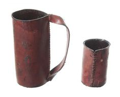 Grimm Leather Cup Set - 1 of 2 - Current price: $75