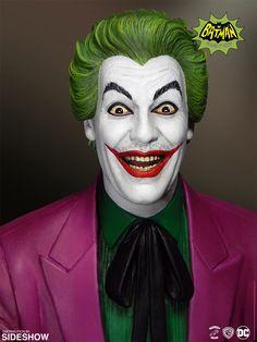 Batman Classics Cesar Romero As The Joker Maquette Batman 1966, Batman Comics, Dc Comics, Batman Batman, Batman Stuff, Batman Arkham, Batman Robin, Superman, Top Villains