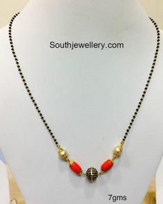 Indian Jewellery Designs - Page 5 of 1784 - Latest Indian Jewellery Designs 2020 ~ 22 Carat Gold Jewellery one gram gold Gold Chain Design, Gold Jewellery Design, Bead Jewellery, Beaded Jewelry, Gold Jewelry, Bridal Jewellery, Beaded Necklace Patterns, Jewelry Patterns, Simple Jewelry