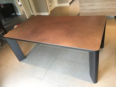 New York dining table features rounded corner table, rounded extensions leaf, and legs. Delivered to our client in Surrey. Contemporary Ceramics, Contemporary Furniture, Extendable Dining Table, Dining Bench, Leather Bed, Corner Table, Round Corner, Surrey, Sofa Design