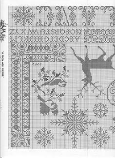 zima shema filet crochet pinterest kreuzstich bistrogardinen und deckchen. Black Bedroom Furniture Sets. Home Design Ideas