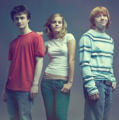 Emma and Rupert have the same smirk.