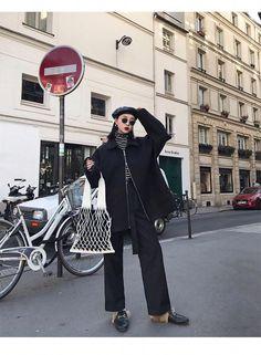 Korean Fashion – How to Dress up Korean Style – Designer Fashion Tips 20s Fashion, Look Fashion, Girl Fashion, Autumn Fashion, Womens Fashion, Travel Fashion, Outfits Otoño, Winter Outfits, Fashion Outfits