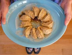 How to Put a Crisp Skirt on Pot Stickers
