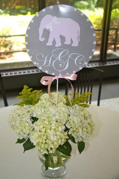 baby shower arrangement