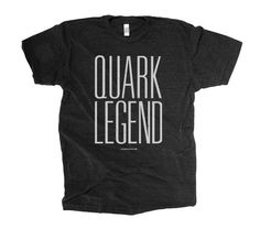 Love this shirt!  notes:  This is a tribute to all the old-schoolers like us... who were rockin' Quark like nobodies bizness until inDesign came in and took over the world. We shall always be legends!