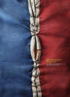 Une campagne choc contre l'excision utilise des drapeaux occidentaux pour sensibiliser l'opinion
