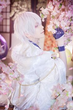 Mon(Mon❥小夢夢) Tsurumaru Kuninaga Cosplay Photo - Cure WorldCosplay