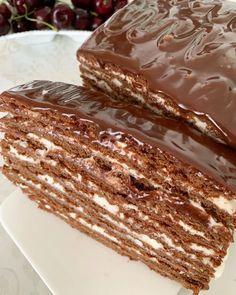 Pastry Recipes, Baking Recipes, Cake Recipes, Dessert Recipes, Russian Recipes, Ukrainian Recipes, Simply Recipes, No Cook Meals, Chocolate Recipes