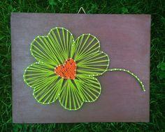 #stringart #stringline #picture #clover