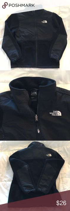 "THE NORTH FACE Girls Fleece Jacket L Large 14-16 THE NORTH FACE Girls Black Denali Osito Fleece Jacket Youth Size L Large THE NORTH FACE Girls Black Fleece Jacket Youth Size L 14-16 Great jacket Pit to pit 19"" Top shoulder to bottom hem 25""  PLEASE CHECK OUT MY OTHER LISTINGS!!! THANKS!!! North Face Jackets & Coats Jean Jackets"