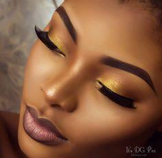Trendy makeup looks for black women make up lip colors 65 ideas Flawless Makeup, Gorgeous Makeup, Pretty Makeup, Love Makeup, Makeup Tips, Makeup Looks, Makeup Ideas, Simple Makeup, Amazing Makeup