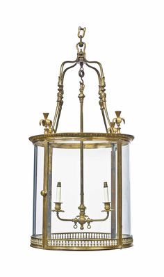date unspecified A LOUIS XVI ORMOLU THREE-LIGHT HALL LANTERN LATE 18TH CENTURY Price realised GBP 18,750