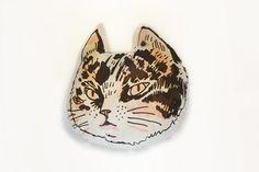 the cat pillow