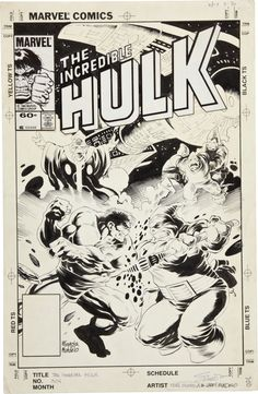 The Incredible Hulk 304 by Mike Mignola and Kevin Nowlan