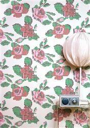 Mimou wallpaper. Scandinavian Wallpaper and Decor