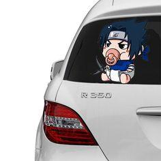 [ Sasuke Uchiha ] PACIFIER SERIES FOR CAR