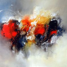 alegría, Ria Nieswaag Colorful Abstract Art, Oil Painting Abstract, Love Art, Creative Art, Sculpture Art, Art Prints, Painting Abstract, Canvas Art, Ideas