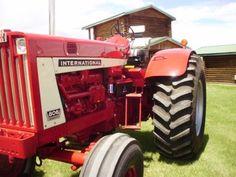 International Tractors, International Harvester, Ih, Farming, Unique, Vintage Tractors, Tractors
