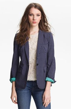 Vince Camuto 'Geo Floral' Print Blazer available at Nordstrom