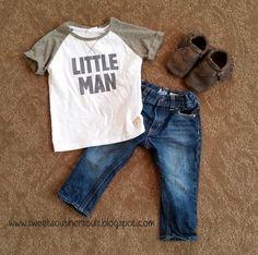 Cute toddler boy style