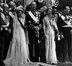 Miss Honoria Glossop:  Wedding of King Paul and Queen Frederica of Greece (Princess Frederika of Hanover)