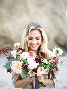 Photography: Charla Storey Photography - www.charlastorey.com Read More: http://www.stylemepretty.com/2015/04/30/romantic-seaside-wedding-inspiration-2/