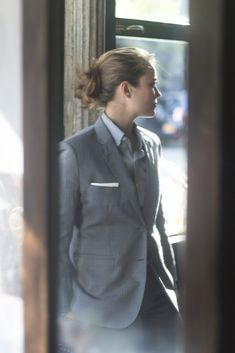 preludetoreality:  Bindle & Keep| Women in Suits#105                                                                                                                                                      More