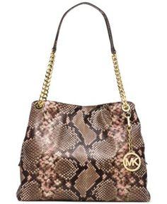 e043820860b506 MICHAEL Michael Kors Jet Set Chain Item Large Shoulder Tote & Reviews -  Handbags & Accessories - Macy's