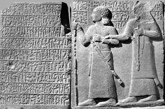 King Yariris and Kamanis, son of Astiruwas (Orthostat, c.a. 800 BC).
