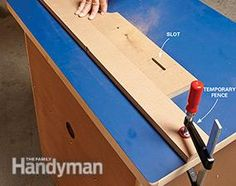Once you mount your router in a diy router table, you might never remove it. Use these simple router table plans to build this router table. Wood Router Table, Making A Router Table, Router Table Plans, Router Woodworking, Woodworking Workshop, Woodworking Projects Plans, Wood Scraps, Easy Diy, Simple Diy