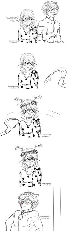 LadyNoir. So cuuuttteee!!!!! Miraculous Ladybug Comic <do not repost is written everywhere and I am so sorry but it's adorable creds to the artist love ya